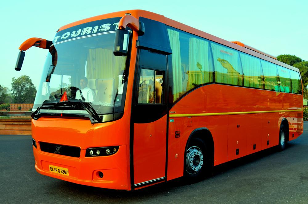 Image result for volvo bus in delhi